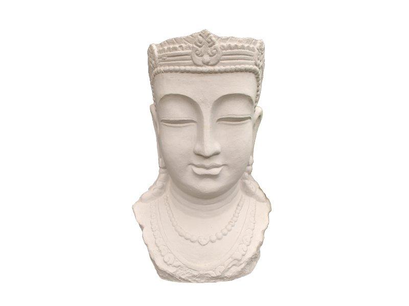 Buddha Head Flower Pot Home Decor